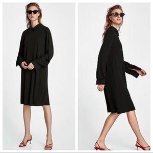 NWT. Zara black dress. Size M.